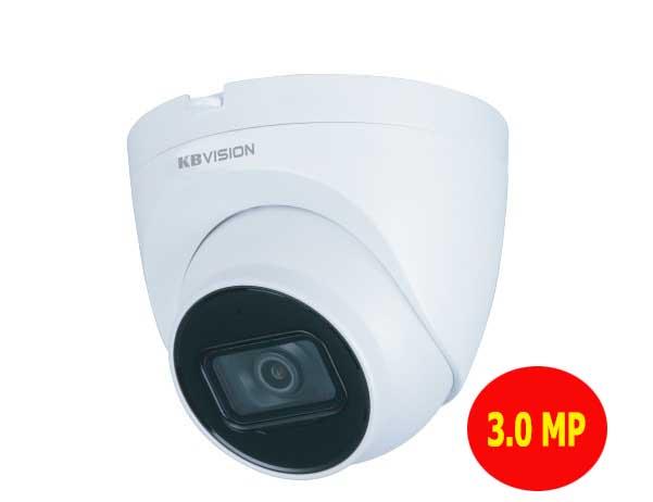 Camera ip Kbvision KX-A3112N2 dome hồng ngoại 3 megapixel
