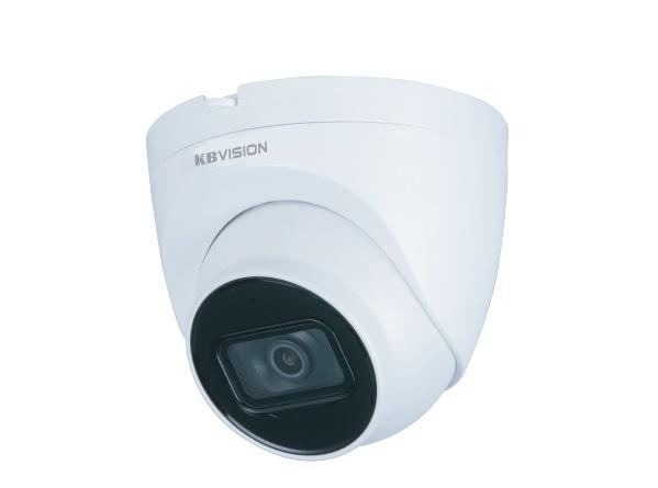 amera IP Dome hồng ngoại 2.0 Megapixel KBVISION KX-A2112N2  - Cảm biến hình ảnh: 1/2.7 inch 2.0 Megapixel Sony.  - Chuẩn nén hình ảnh: Smart H.264/H.265.  - Độ phân giải: 25-30fps@ 2M(1920×1080).  - Ống kính: 3.6mm (góc nhìn 87°).  - Tầm quan sát hồng ngoại: 30 mét.  - Hỗ trợ cân bằng ánh sáng, bù sáng, chống ngược sáng, chống nhiễu 3D-DNR, cảm biến ngày/đêm giúp camera tự động điều chỉnh hình ảnh và màu sắc đẹp nhất phù hợp nhất với mọi môi trường ánh sáng.  - Hỗ trợ chống ngược sáng DWDR.  - Hỗ trợ 20 người sử dụng truy cập cùng lúc.  - Hỗ trợ PoE (cấp nguồn qua mạng) giúp giảm chi phí dây nguồn và nguồn cho camera.  - Hỗ trợ Cloud không cần cài đặt cấu hình mạng, dễ dàng quan sát qua phần mềm trên điện thoại, Server tại Việt Nam giúp truyền tải hình ảnh nhanh và ổn định hơn.  - Hỗ trợ chuẩn kết nối Onvif.  - Nhiệt độ hoạt động: -40~+60°C (có thể hoạt động ở môi trường thời tiết khắc nghiệt như khu vực băng giá hay bên trong kho lạnh).  - Tiêu chuẩn chống bụi và nước: IP67 (thích hợp sử dụng trong nhà và ngoài trời).   Đặc tính kỹ thuật  ModelKX-A2112N2 Camera Image Sensor1/2.7 inch 2Megapixel Panasonic CMOS Effective Pixels1920 (H) × 1080 (V) Electronic shutter speedAuto/Manual, 1/3~1/100000s Minimum Illumination0.01 Lux @F2.0 IR DistanceUp to 30m IR On/Off ControlAuto/ Manual IR LEDs1 Pan/Tilt RangePan: 0˚~355˚; Tilt: 0˚~78˚; Rotation: 0˚~360˚ Lens Lens TypeFixed Mount TypeM12 Focal Length3.6mm Max. ApertureF2.0 Iris TypeFixed aperture Angle of ViewHorizontal: 87°; Vertical: 47°; Diagonal: 104° Video CompressionH.265; H.264 Streaming Capability2 Streams Day/NightAuto (ICR) / Color / B/W BLC ModeBLC / HLC / DWDR  White BalanceAuto/ Natural/ Street lamp/ Outdoor/ Manual/ Regional custom Gain ControlAuto/Manual Noise Reduction3D DNR Motion DetetionOff / On (4 Zone, Rectangle) Region of InterestOff / On (4 Zone) Smart IRSupport Digital Zoom16x Flip0°/90°/180°/270° (Support 90°/270° with 1080p resolution.) MirrorYes Privacy Masking4 areas Network ProtocolIPv4; HTTP; 