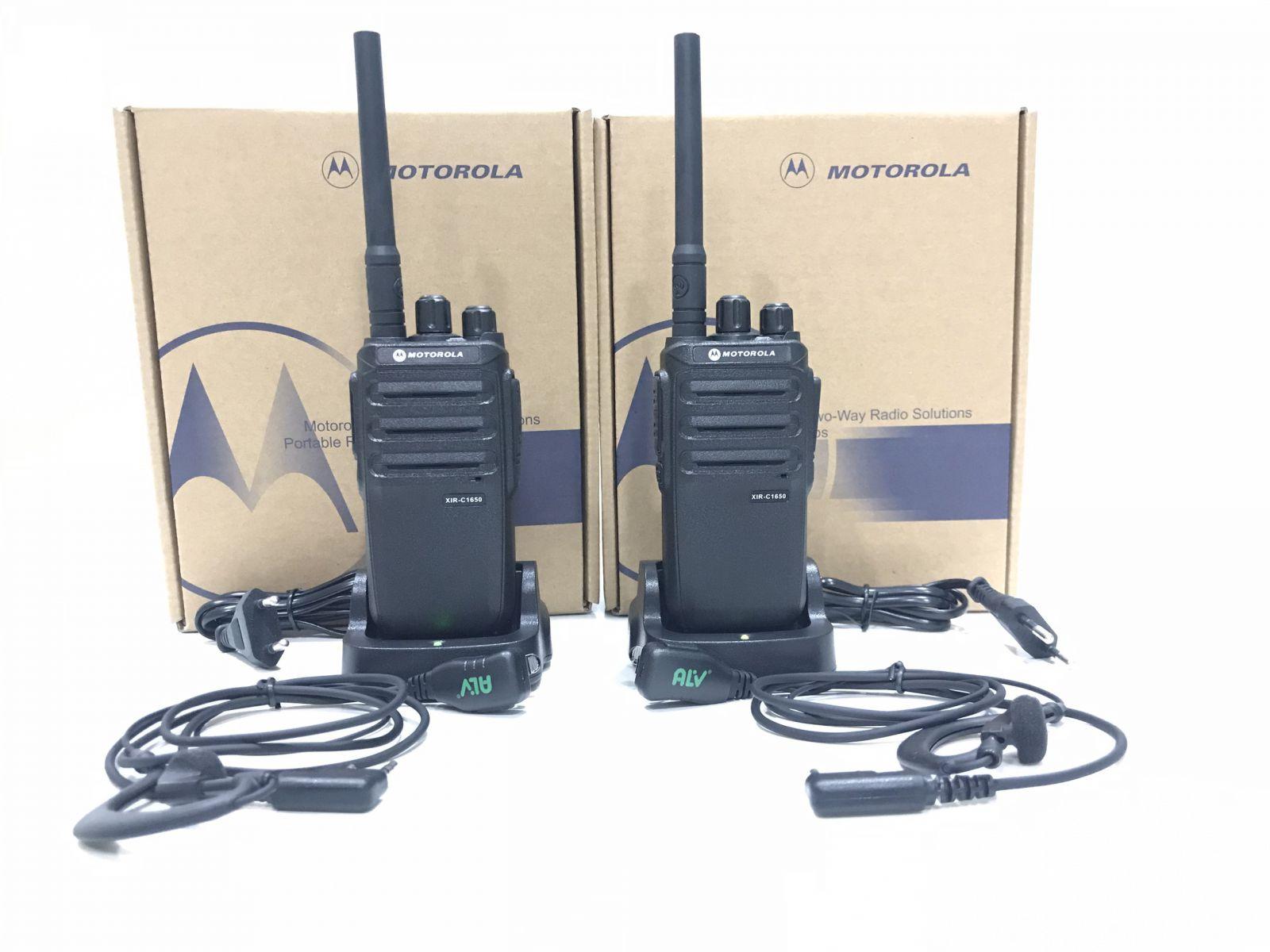 Máy bộ đàm cầm tay Motorola XIR – C1650